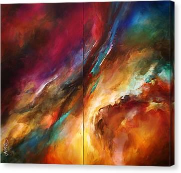 'sea Storm' Canvas Print by Michael Lang