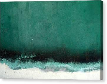 Sea Storm Canvas Print by Robert Riordan