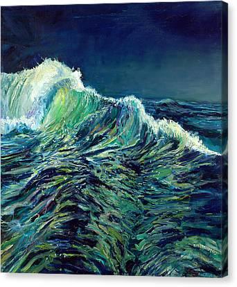Sea Swells Canvas Print