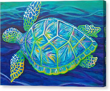 Sea Turtle I Canvas Print