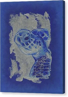 Sea Turtle Canvas Print by Konni Jensen