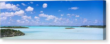 Turks And Caicos Islands Canvas Print - Sea Viewed From The Beach, Chalk Sound by Panoramic Images