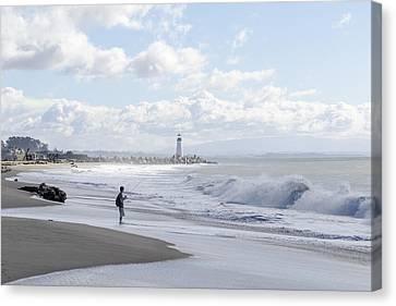 Seabright Beach Canvas Print