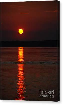 Seabrook Sunset Canvas Print