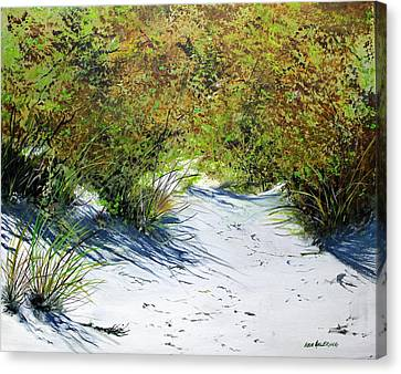 Seagrass Canvas Print by Ken Ahlering
