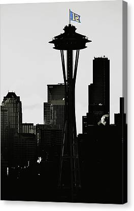 Seahawks Canvas Print by Benjamin Yeager