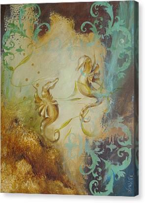 Seahorse Dream 1 Canvas Print