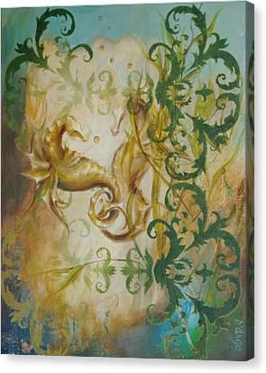 Seahorse Dream 2 Canvas Print