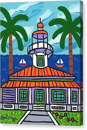 Seahorse Key Lighthouse Canvas Print