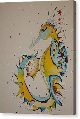 Seahorse Canvas Print by Michelle Thompson