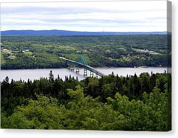 Seal Island Bridge Canvas Print