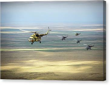 Search And Rescue Canvas Print - Search And Rescue Helicopters by Nasa/bill Ingalls