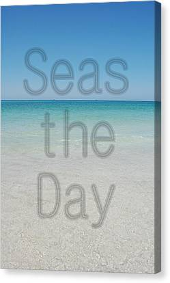 Seas The Day Canvas Print by May Photography