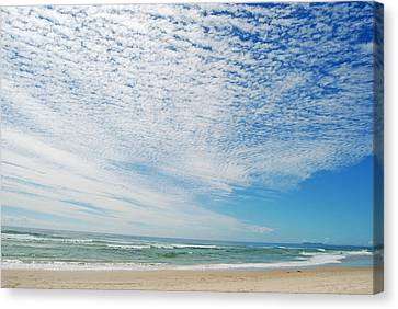 Canvas Print featuring the photograph Seascape 2 by Ankya Klay