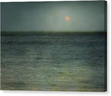Seascape #5. Sun Sea Horizon Canvas Print