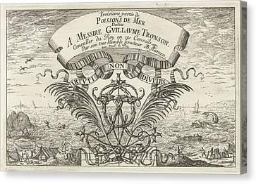 Seascape, Albert Flamen, Jacques Van Merlen Canvas Print