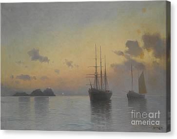 Seascape Canvas Print by Celestial Images