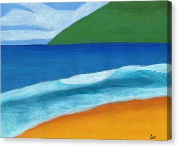 Seascape Canvas Print by Bav Patel