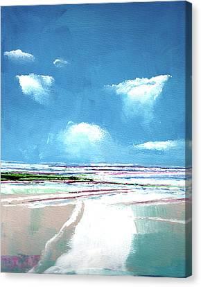 Seascape Iv Canvas Print by Stuart Roy