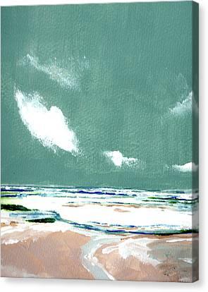 Seascape Ix Canvas Print by Stuart Roy