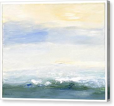 Seascape Izu Japan 1999 Canvas Print