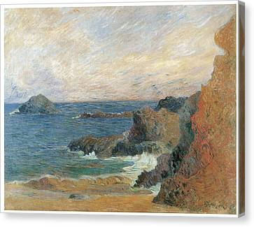 Seascape Canvas Print by Paul Guaguin