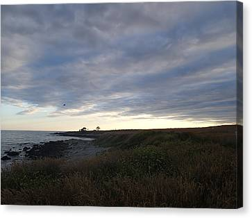 Seascape Canvas Print by Robert Nickologianis