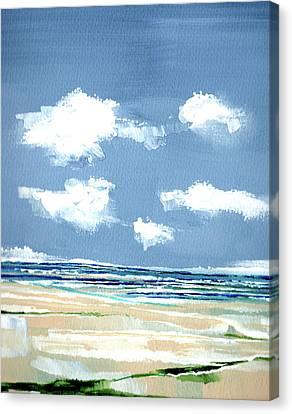 Seascape V Canvas Print by Stuart Roy
