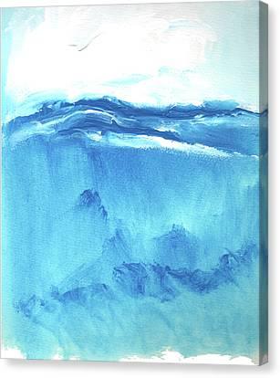 Seascape Vi Canvas Print by Stuart Roy