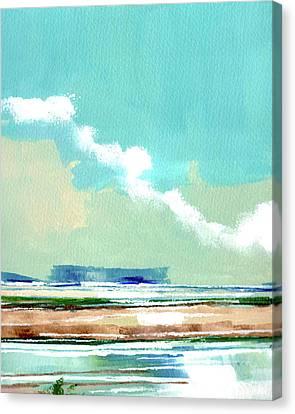 Seascape Vii Canvas Print by Stuart Roy