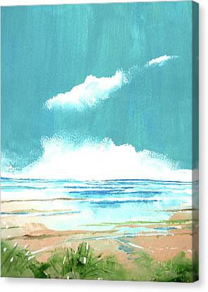 Seascape Viii Canvas Print by Stuart Roy