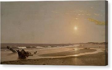Seascape Canvas Print by William Trost Richards