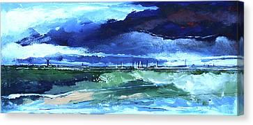 Seascape Xi Canvas Print by Stuart Roy