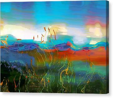 Seascapes 1 Canvas Print