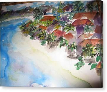 Seashore In Bali Canvas Print