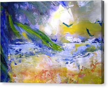 Seashore Windy Days Canvas Print