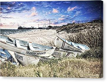 Seaside Heights Life Boats Canvas Print by Jessica Cirz