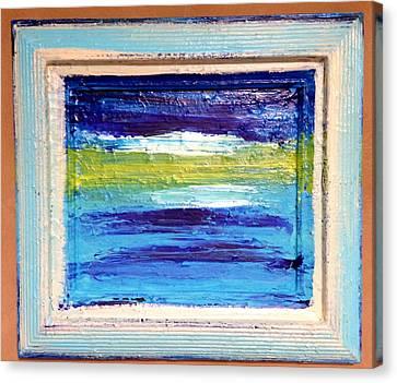 Seaside II Canvas Print by Anna Villarreal Garbis