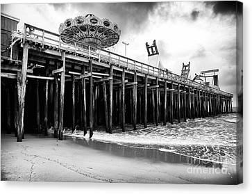 Seaside Pier Canvas Print by John Rizzuto