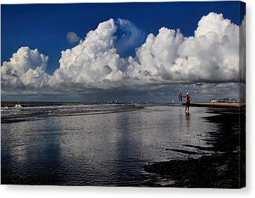 Seaside Reflections Canvas Print