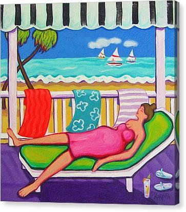 Seaside Siesta Canvas Print