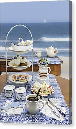Seaside Tea Party Canvas Print