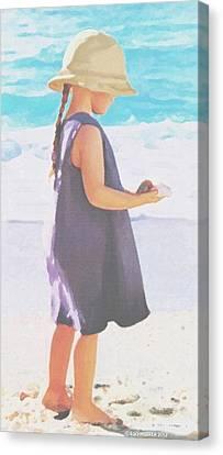 Seaside Treasures Canvas Print