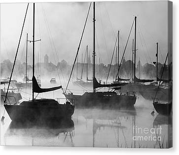 Seasmoke Canvas Print