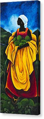 Season Avocado Canvas Print