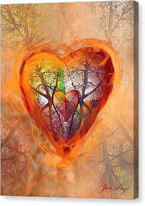 Season Of The Heart Canvas Print