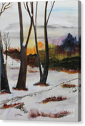 Seasons Canvas Print by Jack G  Brauer