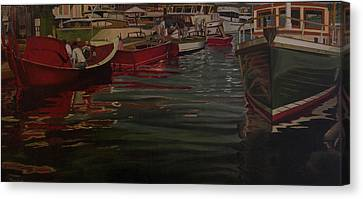 Seattle Boat Show Canvas Print