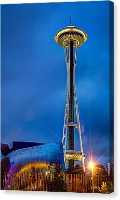Seattle Impressions Canvas Print by Wade Brooks