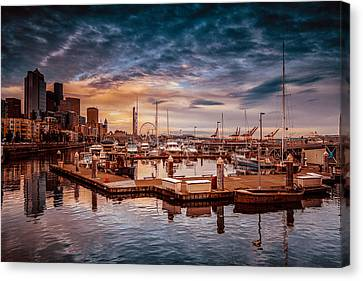 Seattle Marinescape. Canvas Print